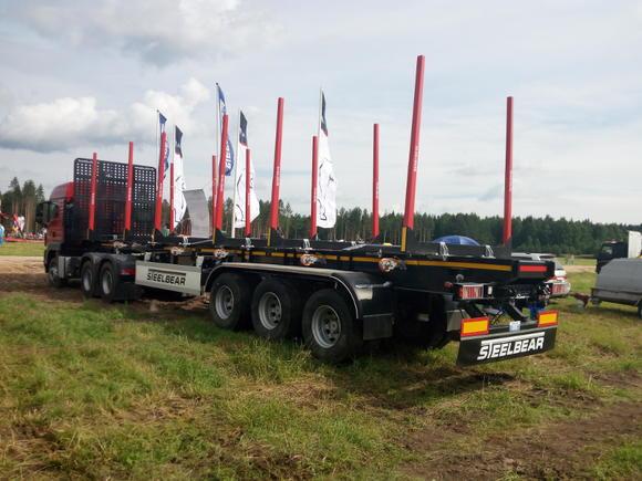 Итоги выставки «Лесоруб XXI века»: STEELBEAR уверенно показал свою силу на рынке лесовозной техники!