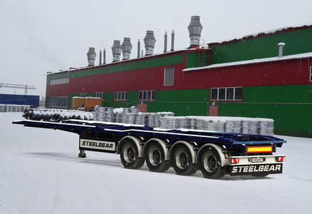 Полуприцеп-контейнеровоз PF-41P (мультилифт)